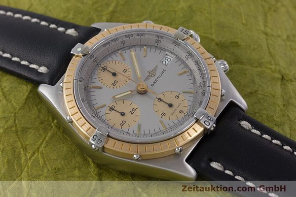 Used luxury watch Breitling Chronomat chronograph steel / gold automatic Kal. ETA 7750 Ref. 81950  | 160391 13