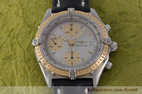 Used luxury watch Breitling Chronomat chronograph steel / gold automatic Kal. ETA 7750 Ref. 81950  | 160391 14
