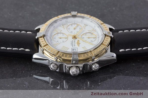 Used luxury watch Breitling Crosswind chronograph steel / gold automatic Kal. B13 ETA 7750 Ref. D13055  | 160394 05