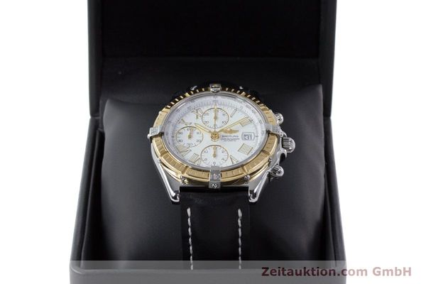 Used luxury watch Breitling Crosswind chronograph steel / gold automatic Kal. B13 ETA 7750 Ref. D13055  | 160394 07
