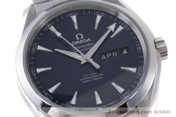Used luxury watch Omega Seamaster steel automatic Kal. 8601 Ref. 231.10.43.22.03.002  | 160404 02