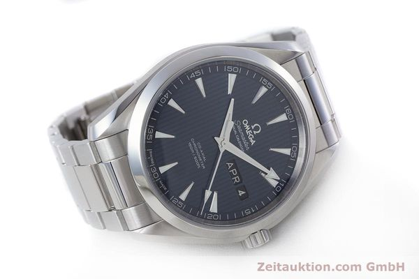 Used luxury watch Omega Seamaster steel automatic Kal. 8601 Ref. 231.10.43.22.03.002  | 160404 03
