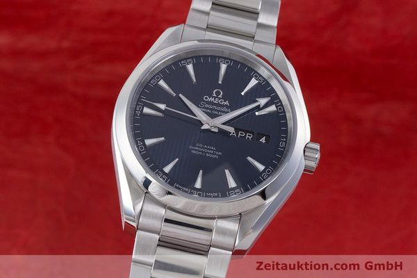 Used luxury watch Omega Seamaster steel automatic Kal. 8601 Ref. 231.10.43.22.03.002  | 160404 04