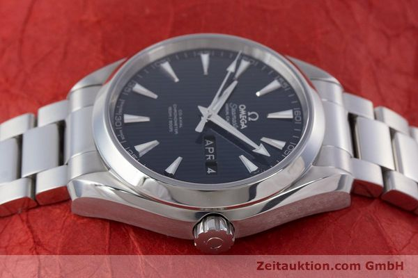 Used luxury watch Omega Seamaster steel automatic Kal. 8601 Ref. 231.10.43.22.03.002  | 160404 05