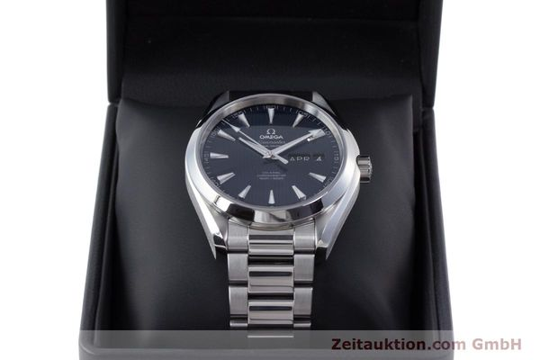 Used luxury watch Omega Seamaster steel automatic Kal. 8601 Ref. 231.10.43.22.03.002  | 160404 07