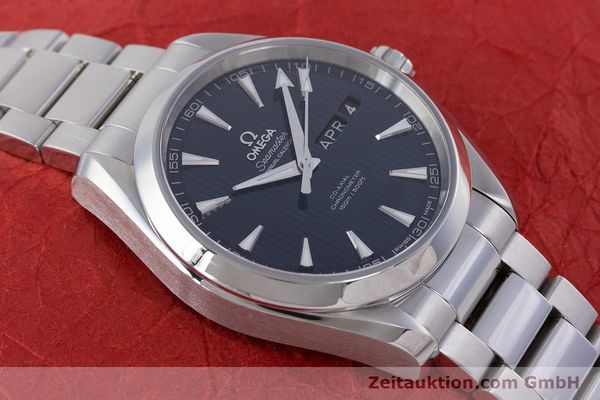 Used luxury watch Omega Seamaster steel automatic Kal. 8601 Ref. 231.10.43.22.03.002  | 160404 15