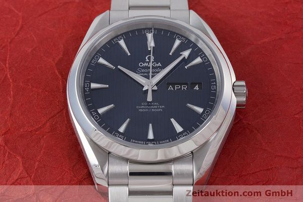 Used luxury watch Omega Seamaster steel automatic Kal. 8601 Ref. 231.10.43.22.03.002  | 160404 16