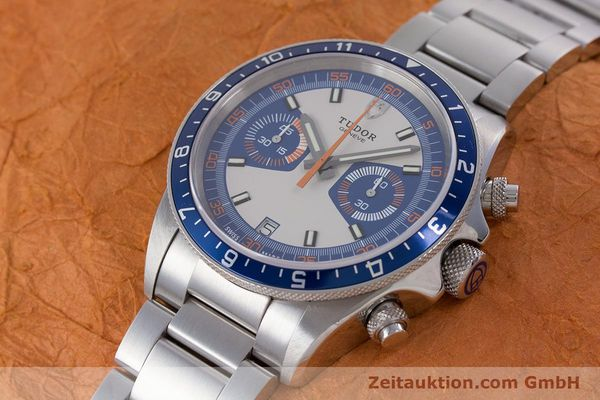 Used luxury watch Tudor Heritage Chronograph  chronograph steel automatic Kal. ETA 2892-A2 Ref. 70330B  | 160407 01