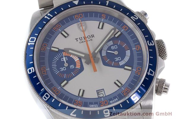 Used luxury watch Tudor Heritage Chronograph  chronograph steel automatic Kal. ETA 2892-A2 Ref. 70330B  | 160407 02