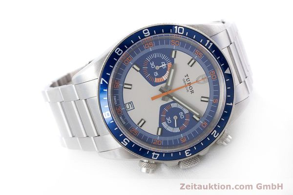Used luxury watch Tudor Heritage Chronograph  chronograph steel automatic Kal. ETA 2892-A2 Ref. 70330B  | 160407 03