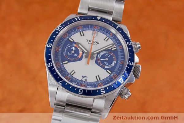 Used luxury watch Tudor Heritage Chronograph  chronograph steel automatic Kal. ETA 2892-A2 Ref. 70330B  | 160407 04
