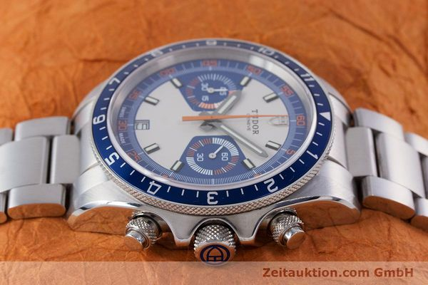 Used luxury watch Tudor Heritage Chronograph  chronograph steel automatic Kal. ETA 2892-A2 Ref. 70330B  | 160407 05