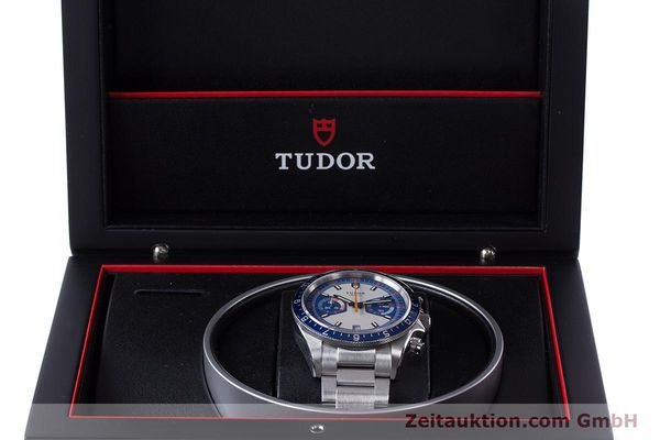 Used luxury watch Tudor Heritage Chronograph  chronograph steel automatic Kal. ETA 2892-A2 Ref. 70330B  | 160407 07
