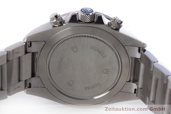 Used luxury watch Tudor Heritage Chronograph  chronograph steel automatic Kal. ETA 2892-A2 Ref. 70330B  | 160407 09