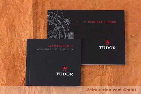 Used luxury watch Tudor Heritage Chronograph  chronograph steel automatic Kal. ETA 2892-A2 Ref. 70330B  | 160407 14
