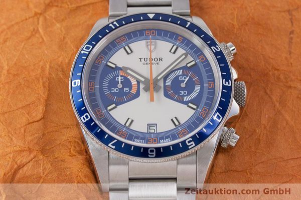 Used luxury watch Tudor Heritage Chronograph  chronograph steel automatic Kal. ETA 2892-A2 Ref. 70330B  | 160407 18