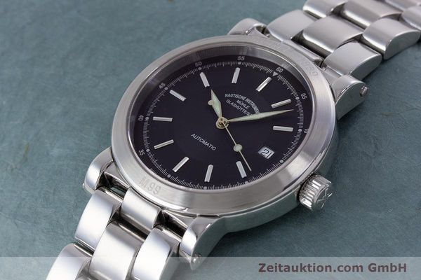Used luxury watch Mühle 1869 steel automatic Kal. ETA 2824-2 Ref. M1-99-40  | 160415 01