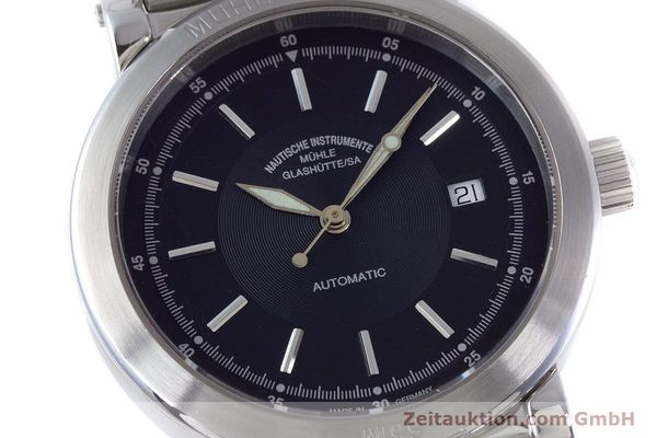 Used luxury watch Mühle 1869 steel automatic Kal. ETA 2824-2 Ref. M1-99-40  | 160415 02