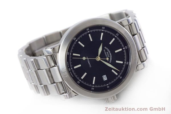 Used luxury watch Mühle 1869 steel automatic Kal. ETA 2824-2 Ref. M1-99-40  | 160415 03