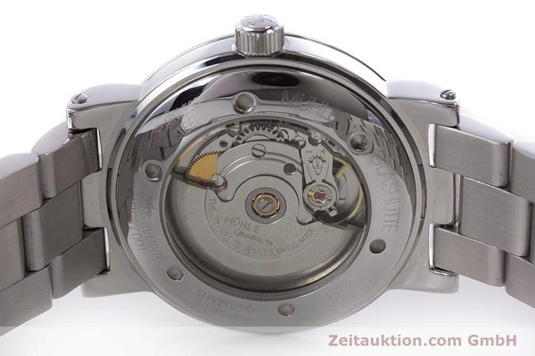 Used luxury watch Mühle 1869 steel automatic Kal. ETA 2824-2 Ref. M1-99-40  | 160415 09