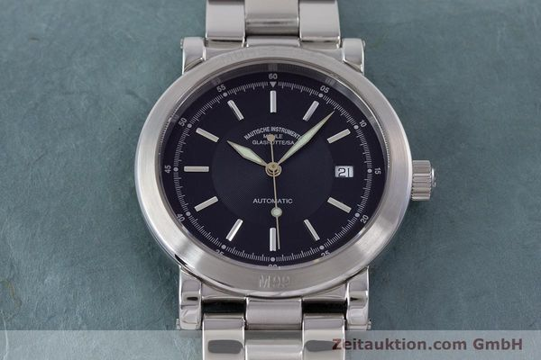Used luxury watch Mühle 1869 steel automatic Kal. ETA 2824-2 Ref. M1-99-40  | 160415 16