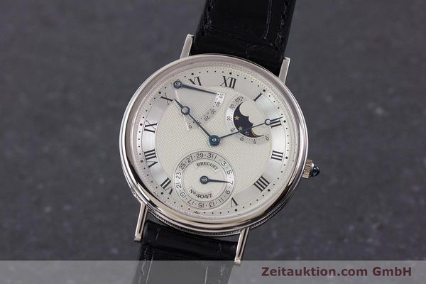 Used luxury watch Breguet Classique 18 ct white gold automatic  | 160417 04