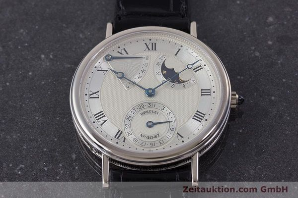Used luxury watch Breguet Classique 18 ct white gold automatic  | 160417 16