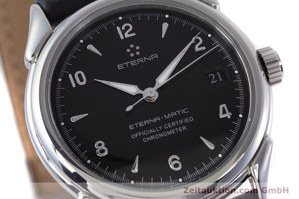 Used luxury watch Eterna 1948 steel automatic Kal. ETA 2824-2 Ref. 148.422  | 160423 02