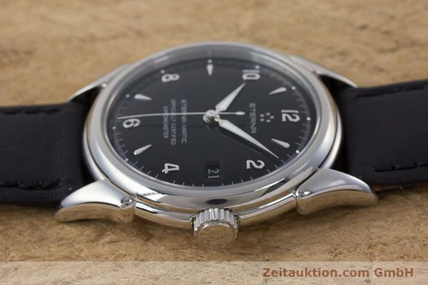 Used luxury watch Eterna 1948 steel automatic Kal. ETA 2824-2 Ref. 148.422  | 160423 05