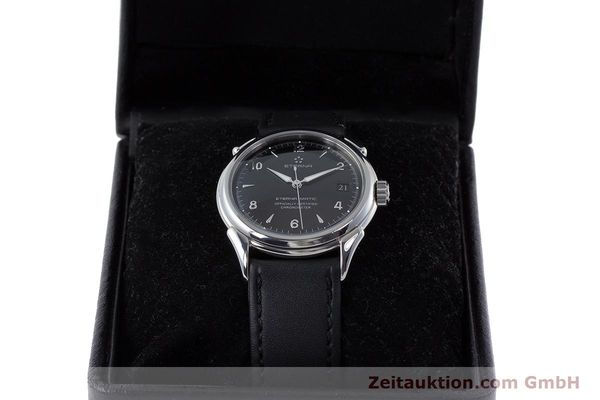Used luxury watch Eterna 1948 steel automatic Kal. ETA 2824-2 Ref. 148.422  | 160423 07