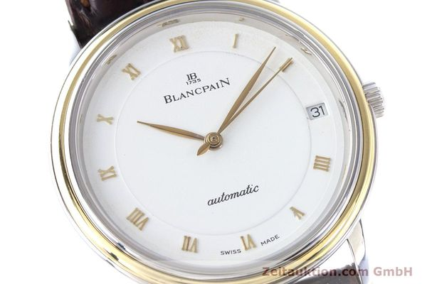 Used luxury watch Blancpain Villeret steel / gold automatic Kal. 11.51  | 160433 02