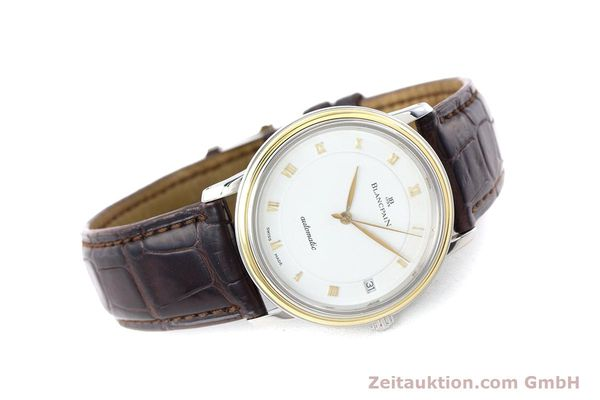 Used luxury watch Blancpain Villeret steel / gold automatic Kal. 11.51  | 160433 03