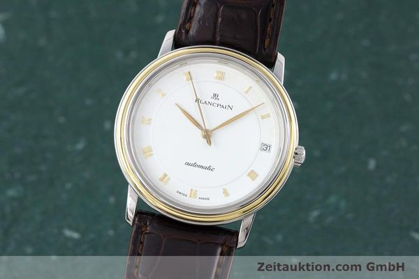 Used luxury watch Blancpain Villeret steel / gold automatic Kal. 11.51  | 160433 04
