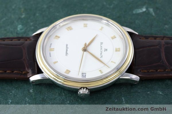 Used luxury watch Blancpain Villeret steel / gold automatic Kal. 11.51  | 160433 05