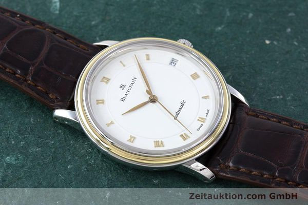 Used luxury watch Blancpain Villeret steel / gold automatic Kal. 11.51  | 160433 13