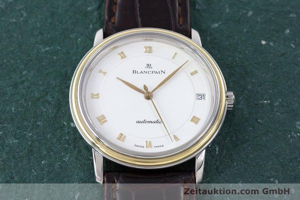 Used luxury watch Blancpain Villeret steel / gold automatic Kal. 11.51  | 160433 14