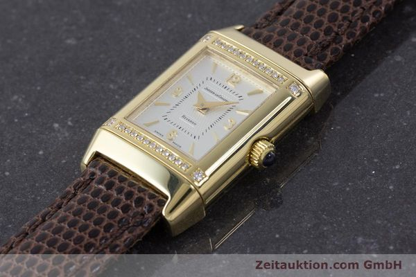Used luxury watch Jaeger Le Coultre Reverso 18 ct gold manual winding Kal. 846/1 Ref. 265.1.86  | 160434 01