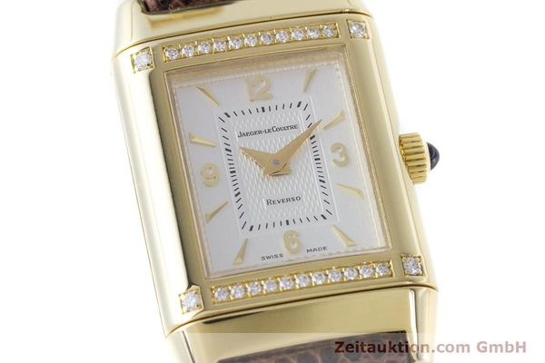 Used luxury watch Jaeger Le Coultre Reverso 18 ct gold manual winding Kal. 846/1 Ref. 265.1.86  | 160434 02