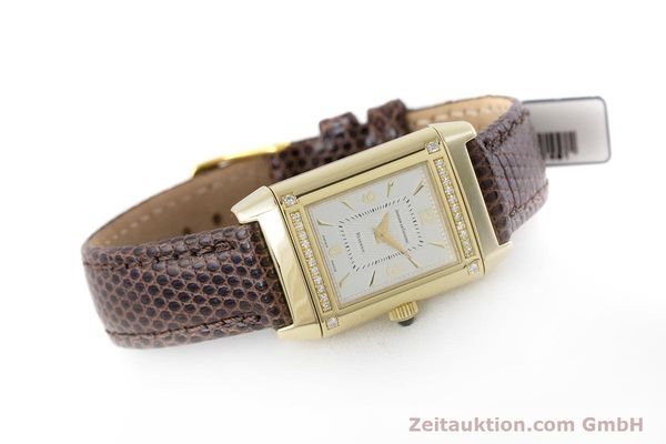 Used luxury watch Jaeger Le Coultre Reverso 18 ct gold manual winding Kal. 846/1 Ref. 265.1.86  | 160434 03