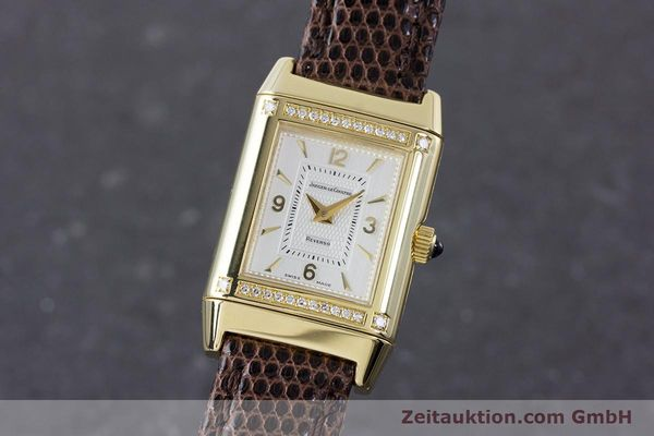 Used luxury watch Jaeger Le Coultre Reverso 18 ct gold manual winding Kal. 846/1 Ref. 265.1.86  | 160434 04