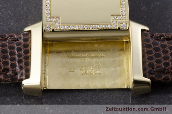 Used luxury watch Jaeger Le Coultre Reverso 18 ct gold manual winding Kal. 846/1 Ref. 265.1.86  | 160434 13