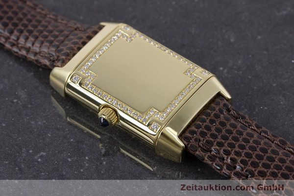 Used luxury watch Jaeger Le Coultre Reverso 18 ct gold manual winding Kal. 846/1 Ref. 265.1.86  | 160434 15