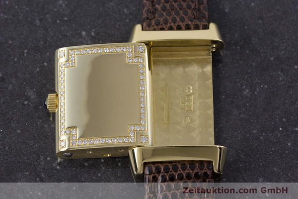 Used luxury watch Jaeger Le Coultre Reverso 18 ct gold manual winding Kal. 846/1 Ref. 265.1.86  | 160434 16