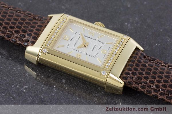 Used luxury watch Jaeger Le Coultre Reverso 18 ct gold manual winding Kal. 846/1 Ref. 265.1.86  | 160434 17