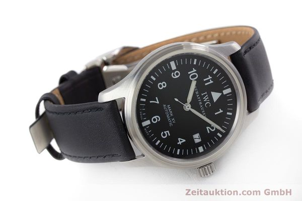 Used luxury watch IWC Mark XV steel automatic Kal. 37524 Ref. 3253  | 160437 03