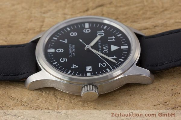Used luxury watch IWC Mark XV steel automatic Kal. 37524 Ref. 3253  | 160437 05