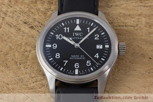 Used luxury watch IWC Mark XV steel automatic Kal. 37524 Ref. 3253  | 160437 16