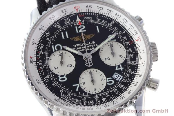 Used luxury watch Breitling Navitimer chronograph steel automatic Kal. B23 ETA 7753 Ref. A23322  | 160441 02