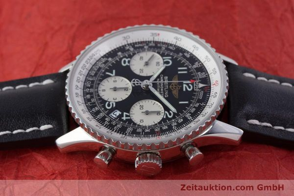Used luxury watch Breitling Navitimer chronograph steel automatic Kal. B23 ETA 7753 Ref. A23322  | 160441 05