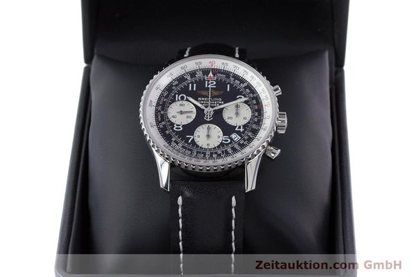 Used luxury watch Breitling Navitimer chronograph steel automatic Kal. B23 ETA 7753 Ref. A23322  | 160441 07